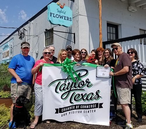 We celebrated our membership in the Greater Taylor Chamber of Commerce on May 2, 2019.