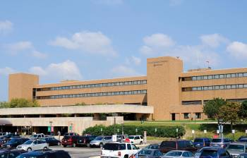 Front of Advocate Good Shepherd Hospital.