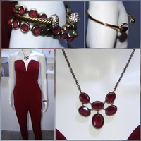 Mystic Red Necklace!
