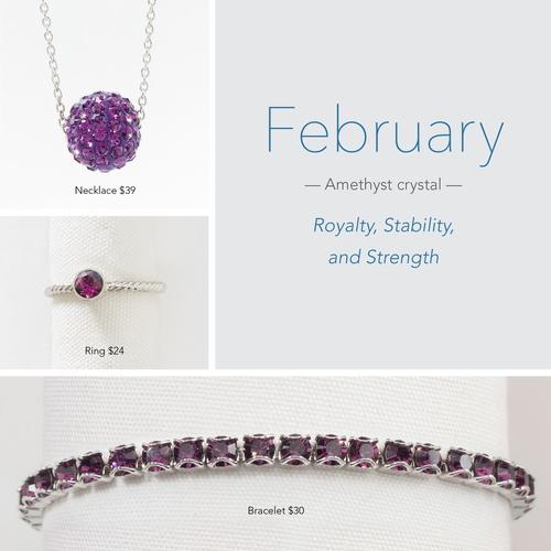 February Birthstone!
