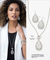 Lace Earrings and Necklace!