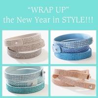 Tri-Wrap Bracelets...wear as a single, double or triple!