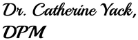 Dr. Catherine Yack, DPM