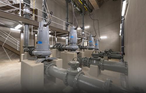 Mallard Fox Pump Station in Decatur