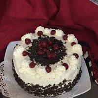 Black Forrest Torte with Drunken Morello Cherries