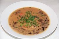 Creamy Mashrooms soup Gribok