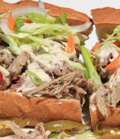 New Winner pulled pork Taiga sandwich, pita, taco, or chips, or complitely gluten free