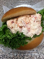 Orleans Seafood Market has delicious lobster salad rolls!