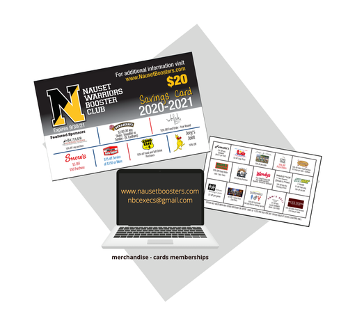 Buy Your Nauset Card at nausetboosters.com