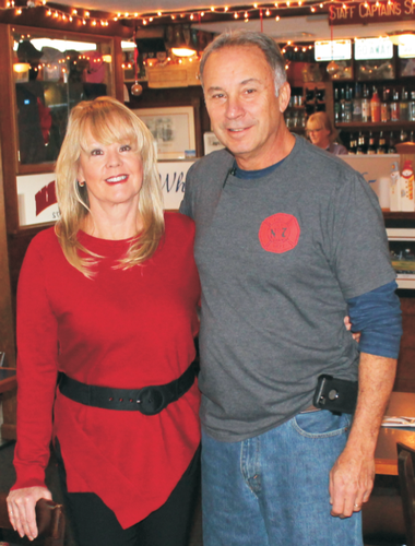 Owners Carol and Tony Barreiro invite you to The Yardarm!