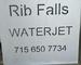 Rib Falls Waterjet