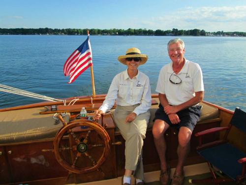Capt Iris & First Mate Frank