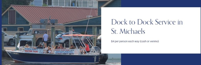 St. Michaels Harbor Shuttle & Tours