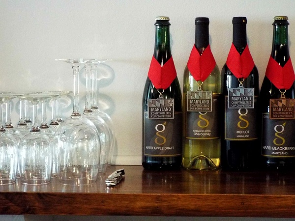 Great Shoals Cellars Award Winning Maryland Wine and Hard Cider