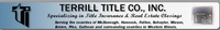Terrill Title Co., Inc.