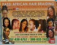 PASSI AFRICAN HAIR BRAIDING