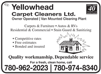 Yellowhead Carpet Cleaners Ltd.