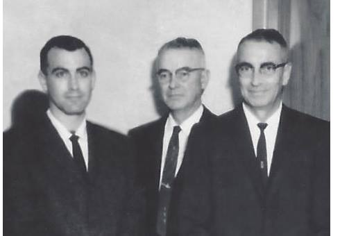Pictured (l-r): Don Sherman, Earl Sherman, & Neil Sherman in the 1950s
