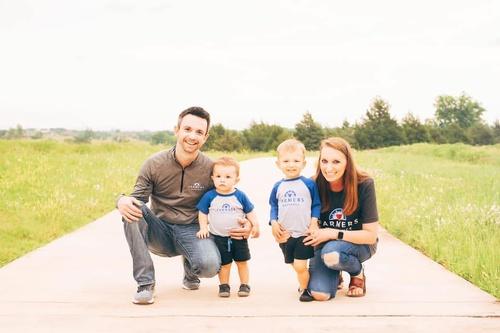 Cody Barton and Family