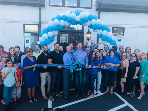 Winslow Homes Design Studio Ribbon Cutting