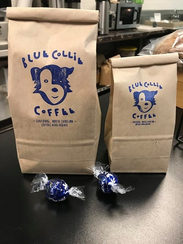 Blue Collie Coffee Shop Coffee Beans