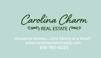 Carolina Charm Real Estate
