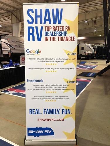 Shaw RV Banner