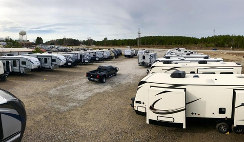 Shaw RV lot picture