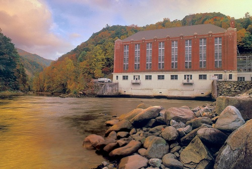 Duke Energy Walters Hydroelectric Plant