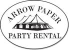 Arrow Paper Party Rental