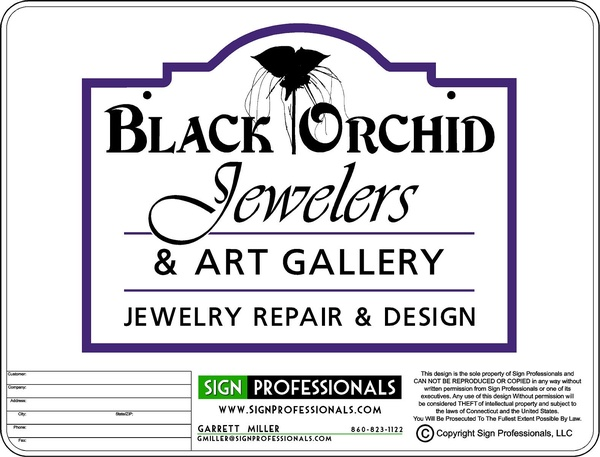 Black Orchid Jewelers & Art Gallery