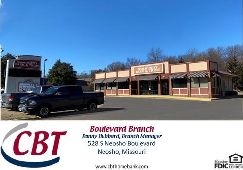 Community Bank & Trust, 528 S Neosho Blvd, Neosho, MO