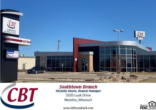 Community Bank & Trust, 3105 Lusk Drive, Neosho, MO