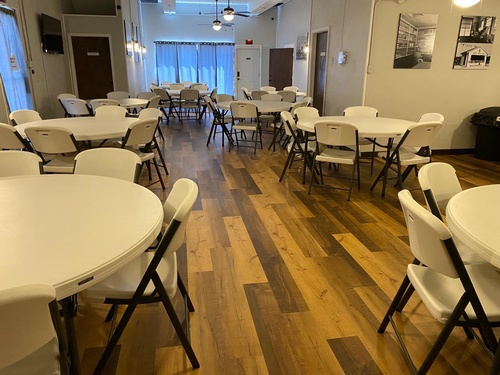 Main Room View w/ Tables