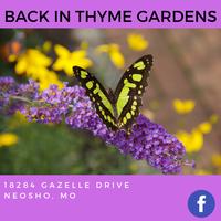 Back in Thyme Gardens & Culinary Center, LLC