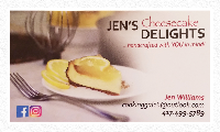 Jen's Cheesecake Delights