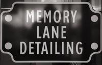 Memory Lane Detailing