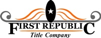 First Republic Title Company