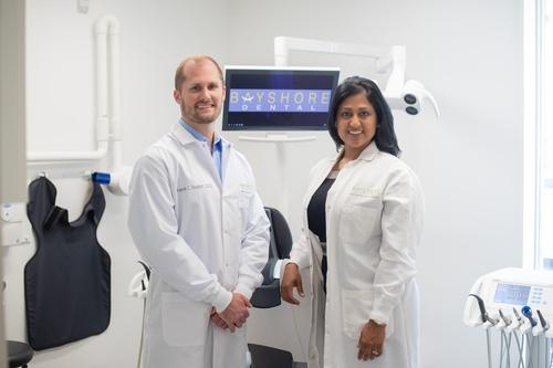 Dr. Aaron Seubert and Dr. Gauri Mona Patel