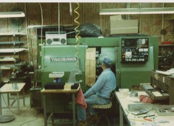 1984 first CNC machine