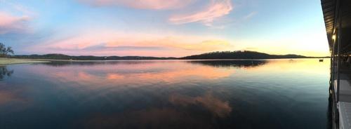Port of Kimberling Sunset