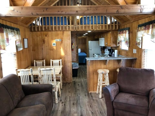 Cabins Living Area