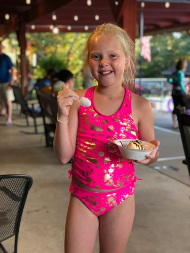 The famous Ice Cream Social at Holiday Hideaway Resort!