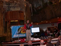 Doc Seger speaks at Bass Pro