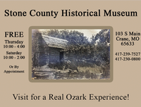 Stone County Historical & Genealogical Society Museum