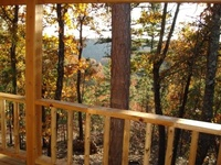View from Bear Cliff Cabin