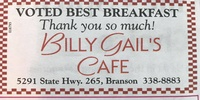 BillyGail's Cafe