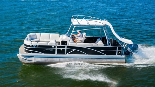 Try a pontoon rental for the family!