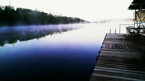 Good Morning from Cedar Wood Resort's dock!