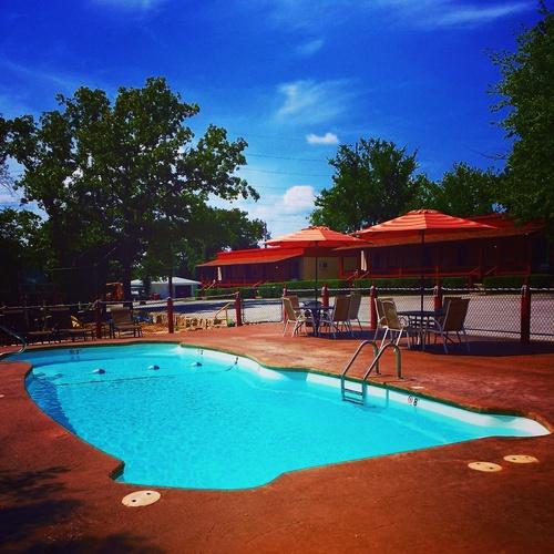 Pool Side at Cedar Wood Resort